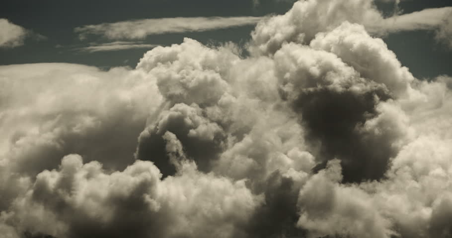 4k Panoramic of time lapse white puffy cloud mass in sky,heaven scene,mushroom-cloud,Tibet plateau climate. gh2_08742_4k