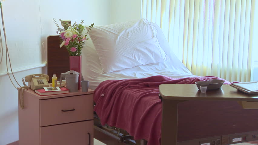 Hospital room - HD stock footage clip