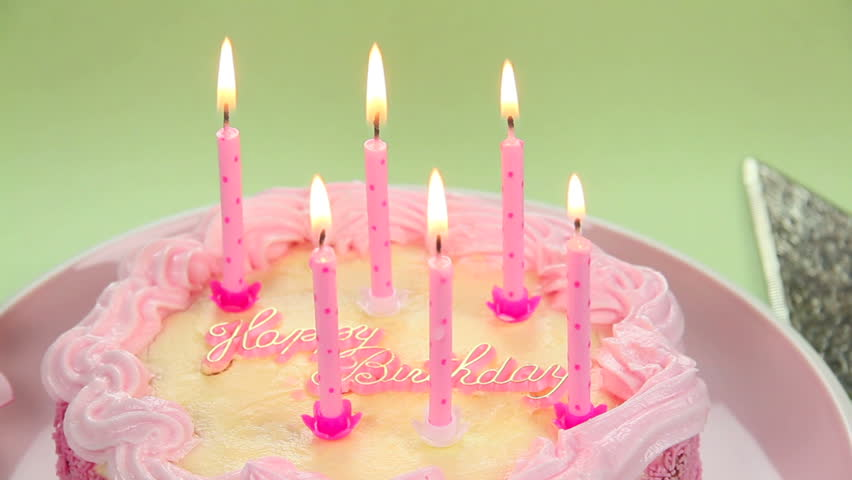 Birthday Cake With Candles Hd Images : Birthday Candle Stock Footage Video - Shutterstock