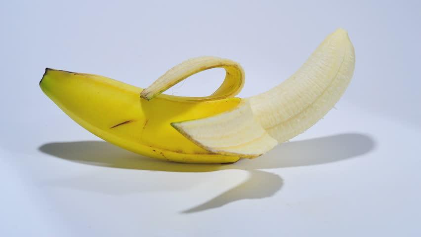 Time Lapse of Banana Rotting in Studio
