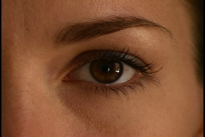 Woman's Eye Close-up - SD stock video clip