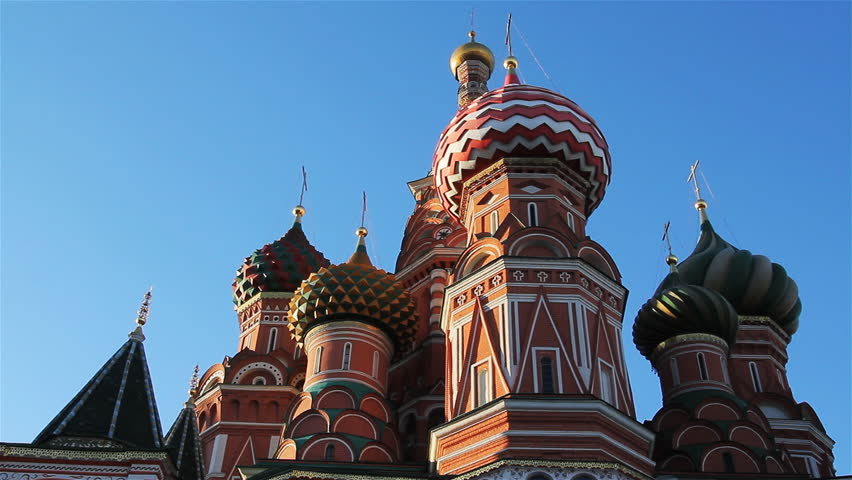 Russia, Moscow, Red Square, the Kremlin - HD stock video clip