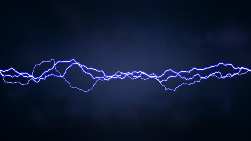 Lightning Streaks - HD stock footage clip
