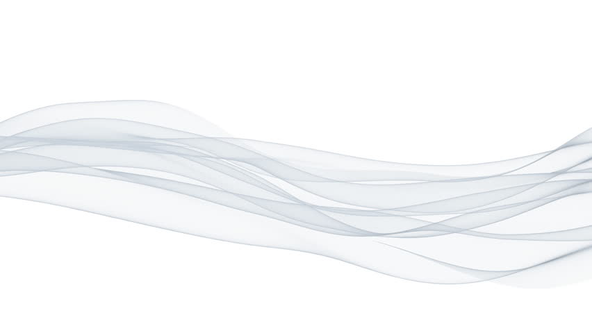 Wispy lines against white, seamless loop