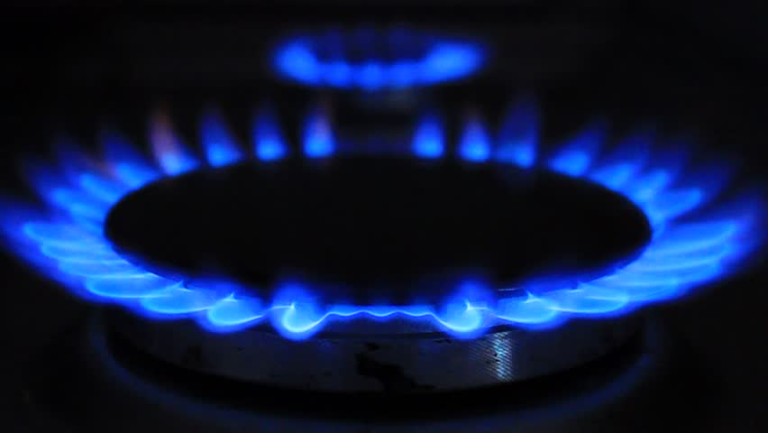 Blue Color Of A Gas Flame On A Stove Stock Footage Video 2114177 Shutterstock