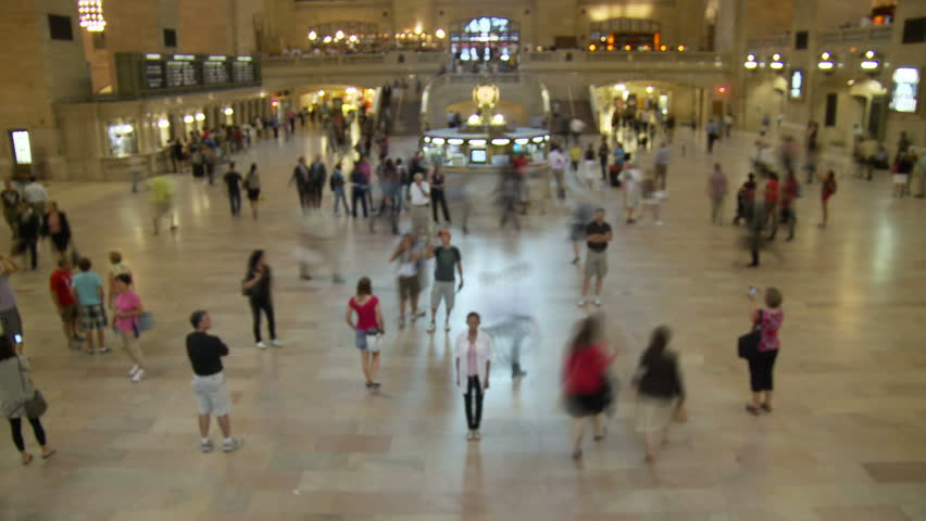 Grand Central Train Station - Manhattan - HD stock footage clip