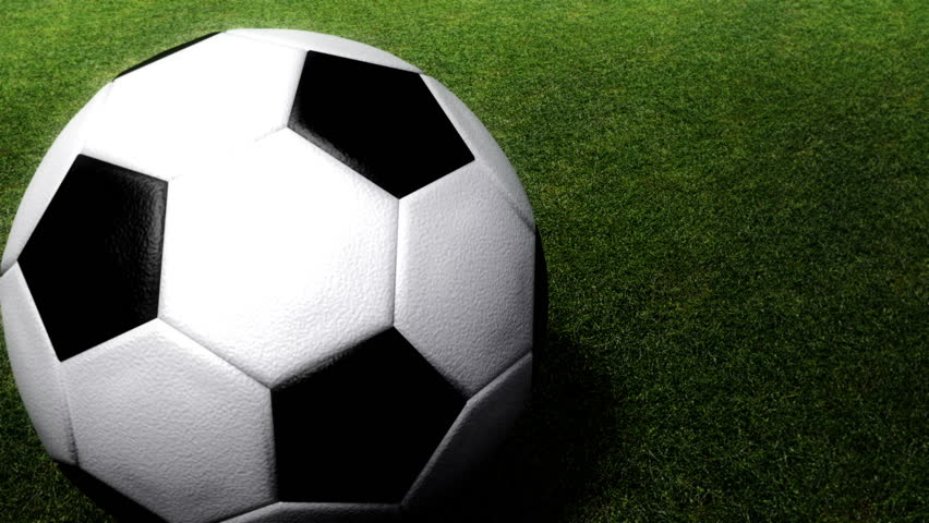 Rolling Soccer Ball On A Grass Field,looping Animation ... Rolling Soccer Ball Picture