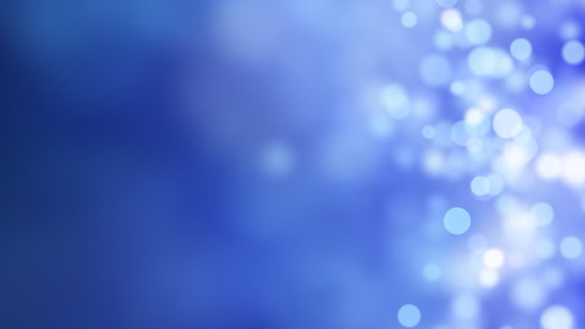 loopable abstract background blue bokeh circles - HD stock footage clip