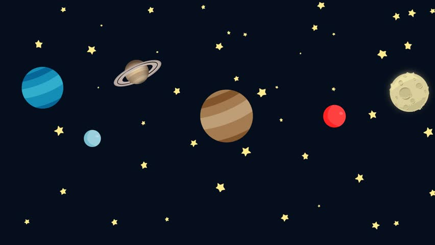 drawings of planets animation - photo #8