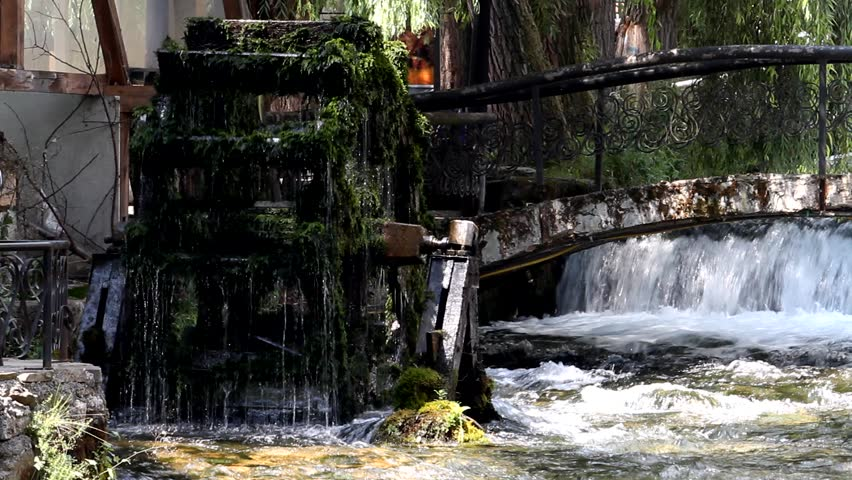 Old mill - HD stock footage clip