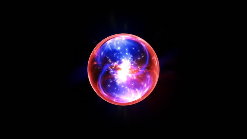 Energy Orb. Alpha HD  | Shutterstock HD Video #1305136