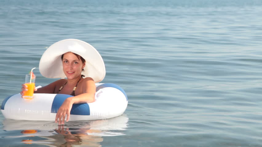 woman on vacation - HD stock video clip