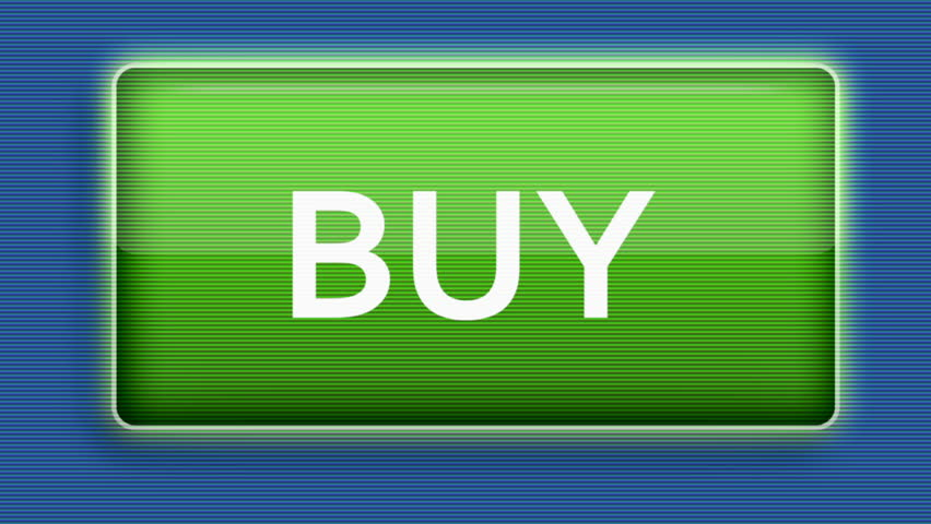 Close up of a cursor clicking a buy button. - HD stock video clip