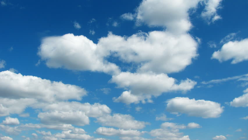 Clouds. Time Lapse.  - HD stock footage clip