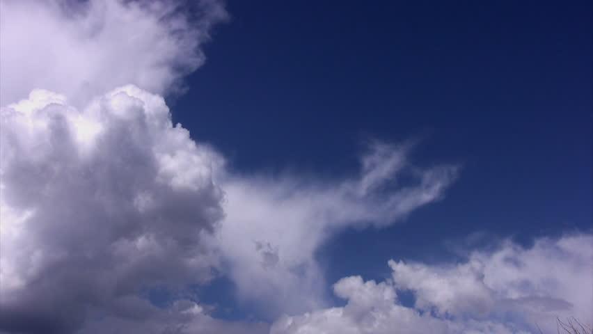 Summer Sky Clouds 04 Loop - HD stock video clip