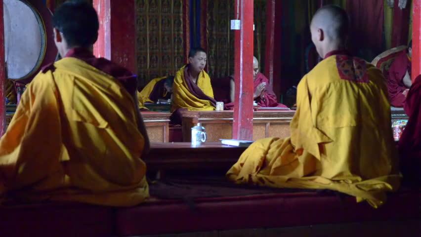 Free monk porn video