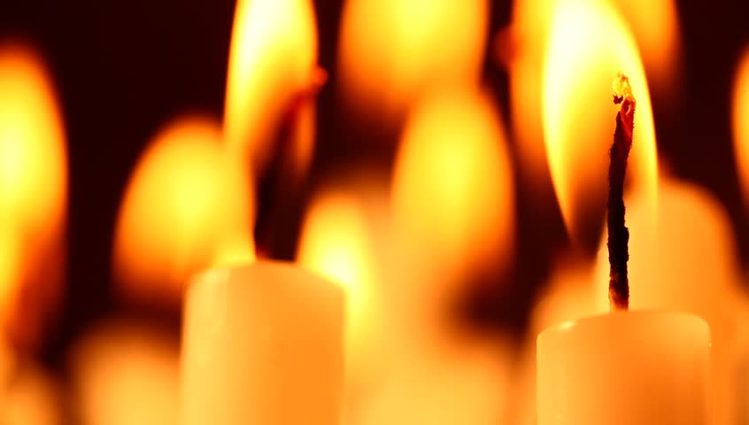 Candles - HD stock video clip