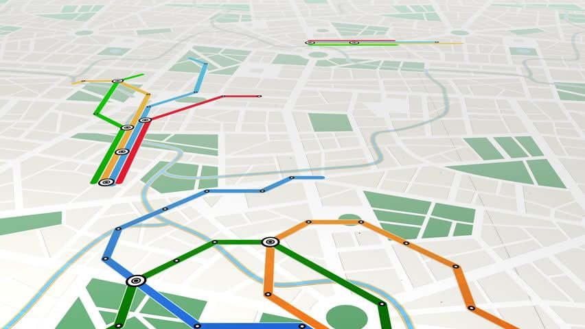 Metro, seamless loop