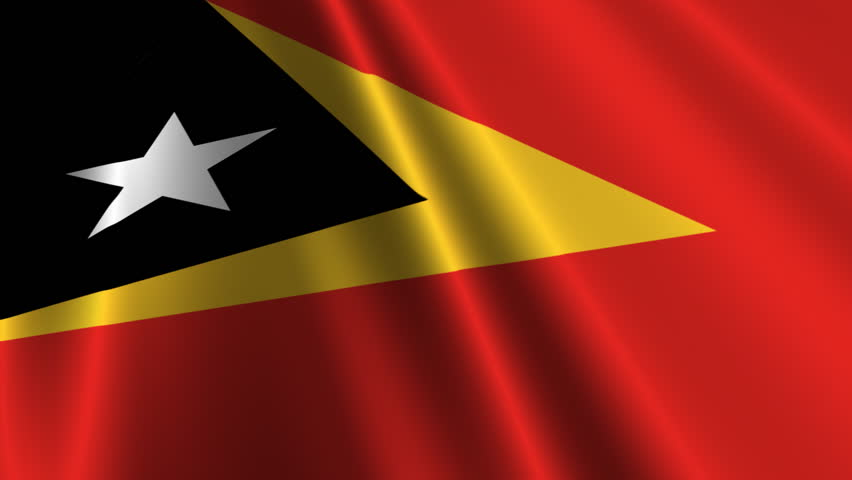Image result for free stock images billowing east timor flag