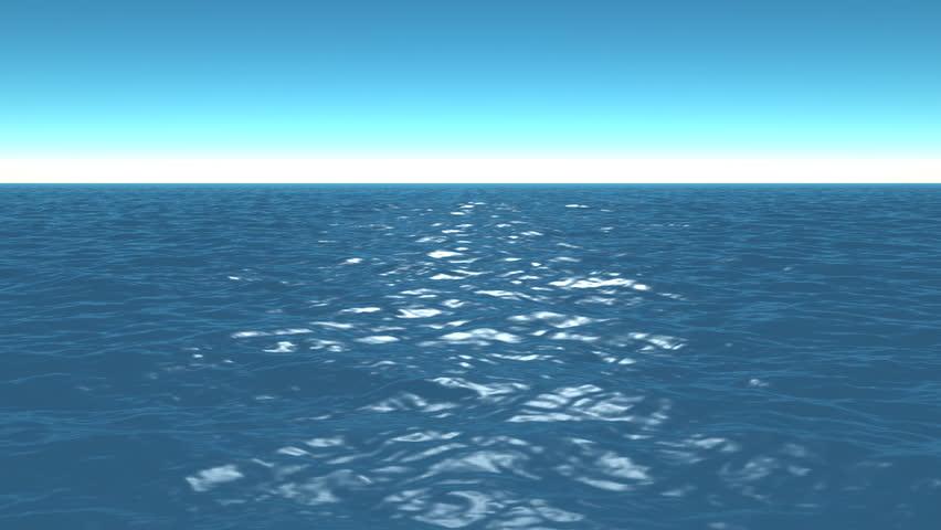Ocean Waves In Open Sea Stock Video Footage – Fondos de Pantalla