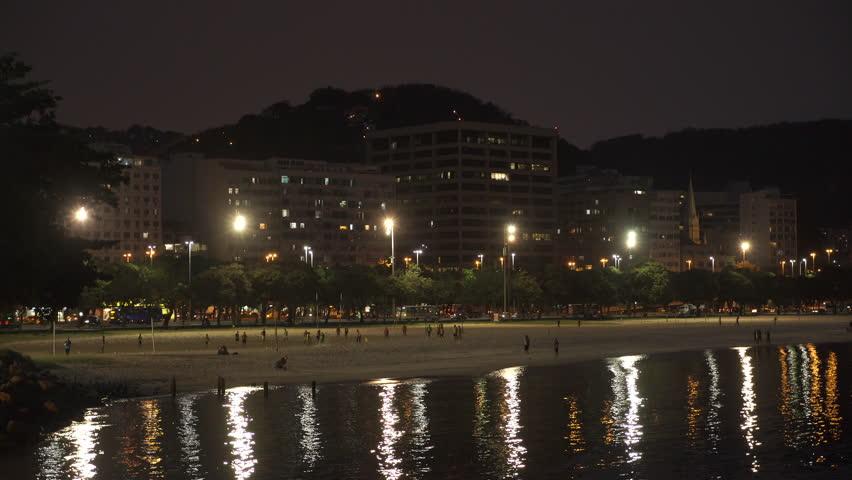 May 2015 - Rio De Janeiro, Brazil: static shot of Atlantic ocean off the coast of Rio De Janeiro, Brazil   Shutterstock HD Video #14323708