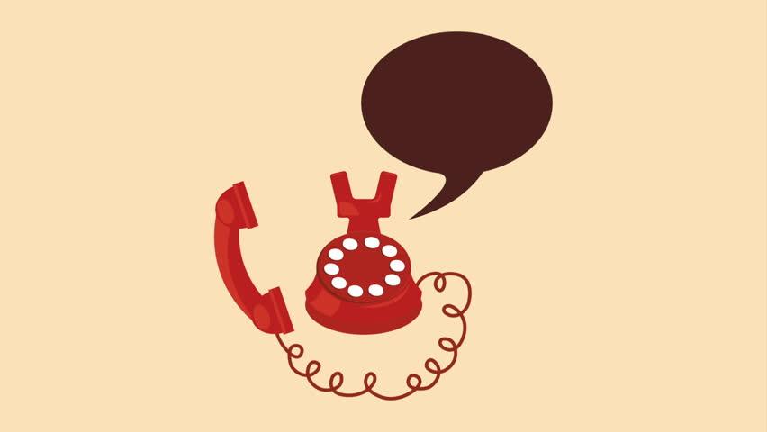 Phone  icon design, Video Animation