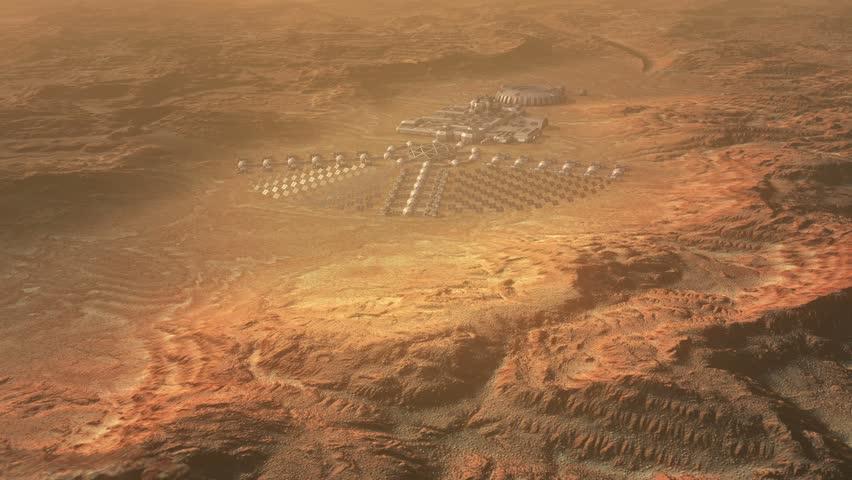 Mars colonization concept    Shutterstock HD Video #14548411