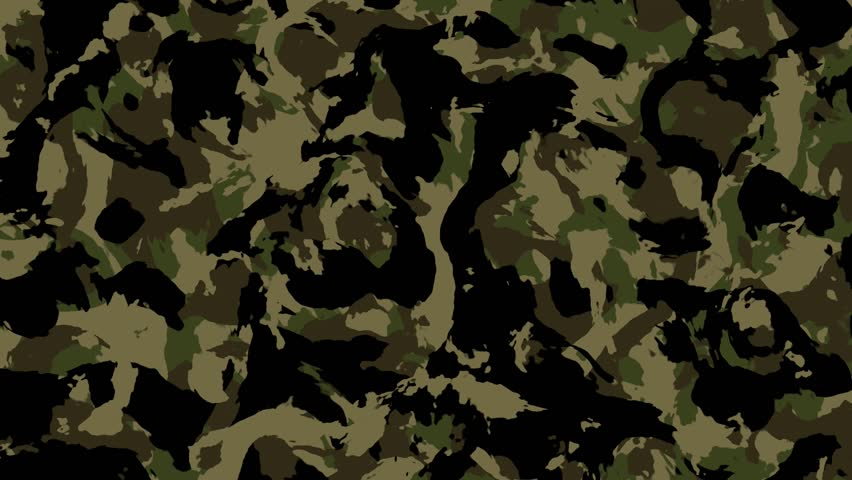 Camouflage Pattern Background Loop In Desert Camo Colors ...