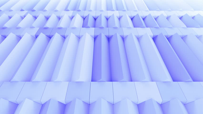 Abstract rectangular and box elements background with randomly rotated elements, 3d render or boxes and rectangles with fillet edges, loopable | Shutterstock HD Video #14660182