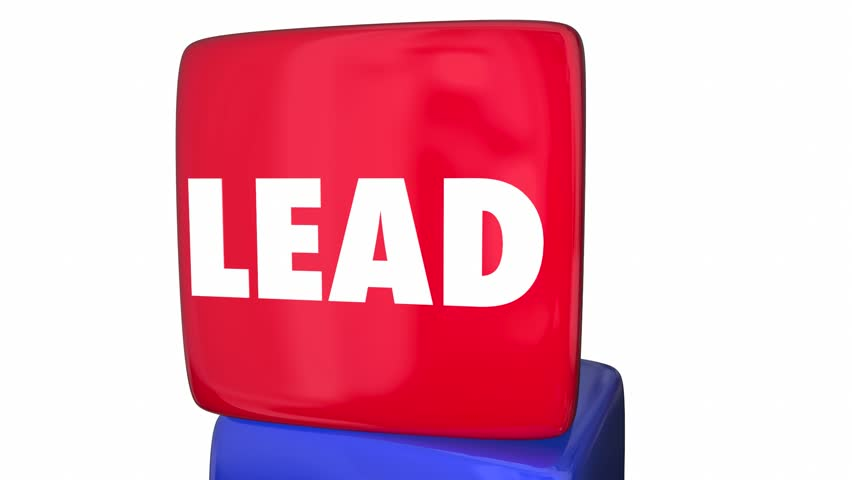 Lead Teach Coach Excite Inspire Manager Roles Cube Tower - HD stock video clip