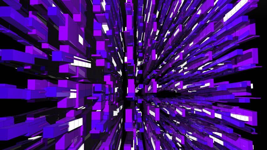 Cube Beat 3D animation. Rendered in HD. | Shutterstock HD Video #1492255