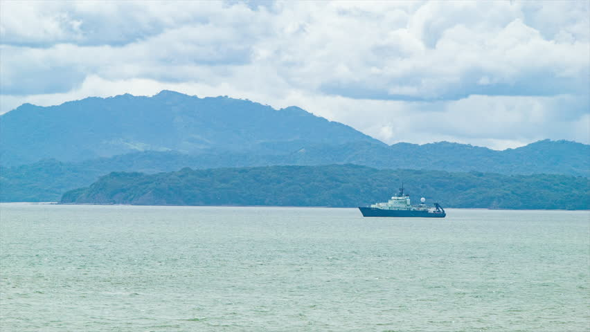 At Pacific Port Costa Rica Stock Footage Video 4263137 Shutterstock