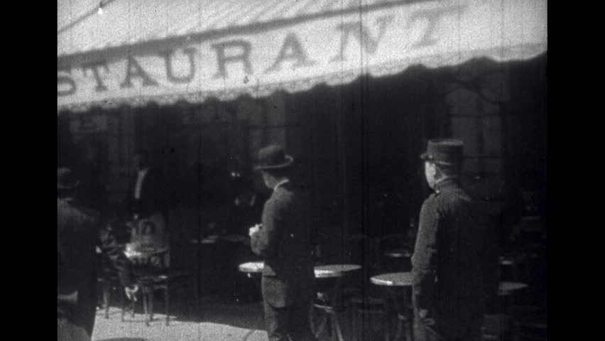 EUROPE 1900s: Kings Visit Paris