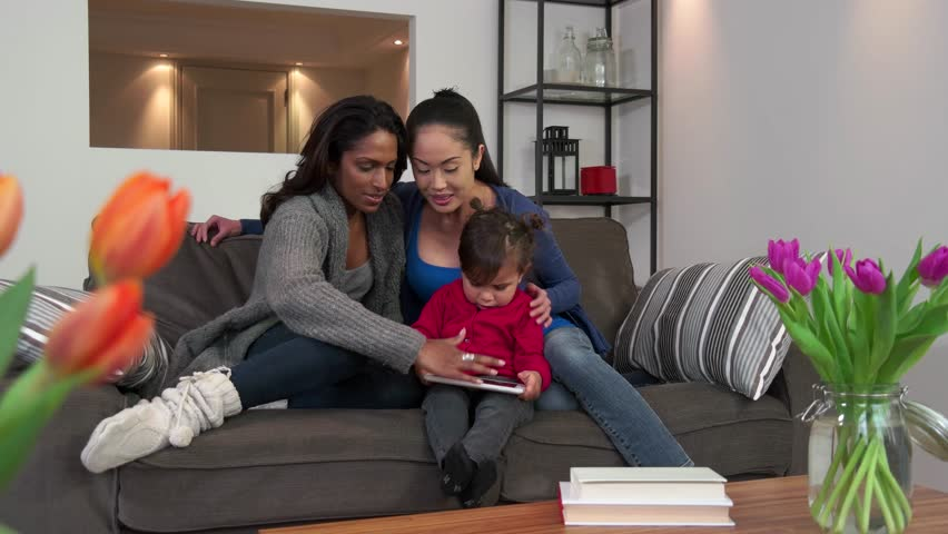Lesbian relationship between mother and daughter