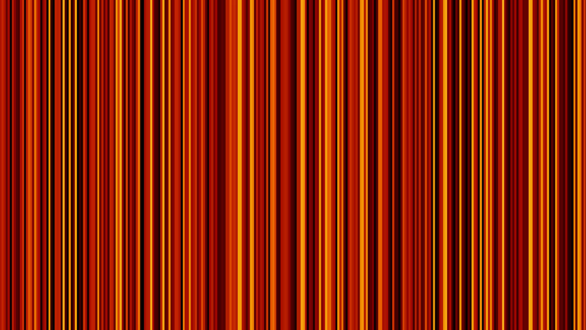 Looping Animation Of Black Red And Yellow Vertical Lines