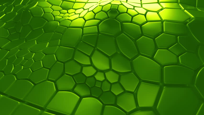 Abstract 3d loopable background with extruded polygons | Shutterstock HD Video #15359914