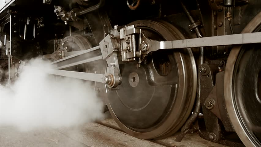 high technology the steam engine By the early 1800s, high-pressure steam engines had become compact enough to move beyond the factory, prompting the first steam-powered locomotive to hit the rails in britain in 1804.