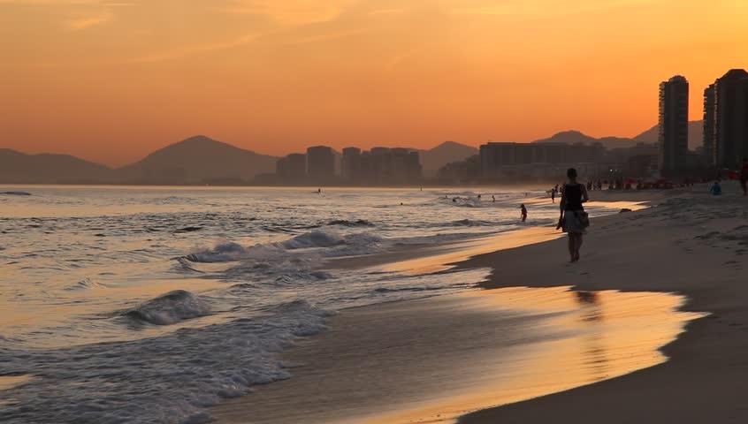 sunset beach, Rio de Janeiro