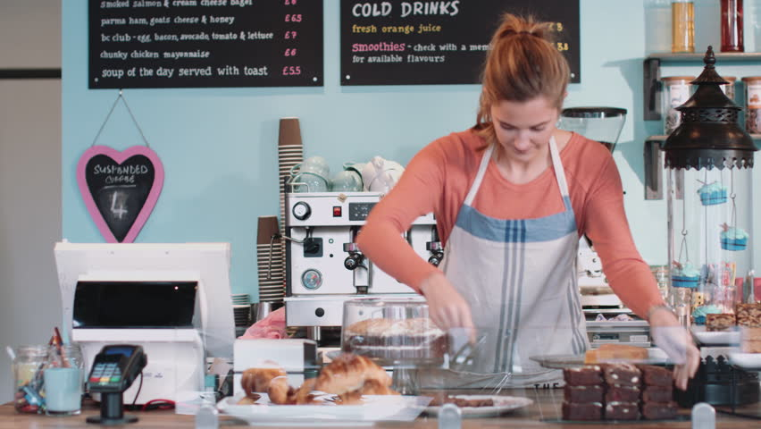 Portrait of Cake shop Small business owner