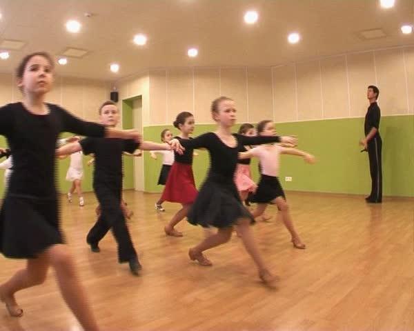 dance - SD stock video clip