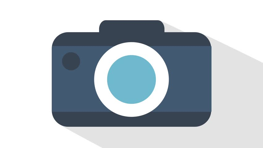 an animated camera graphic stock footage video 11069705