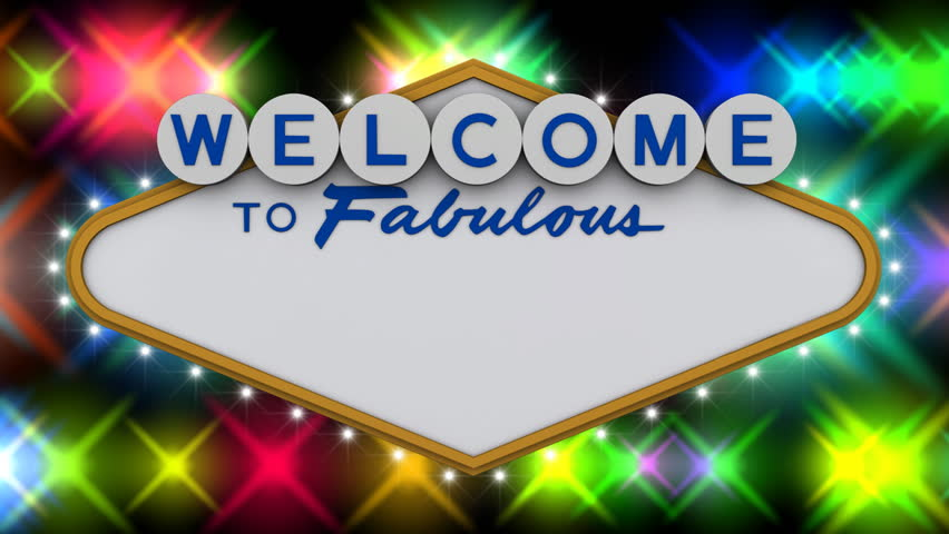 Welcome to fabulous generic sign with flashing lights. Add your own text. HD Version
