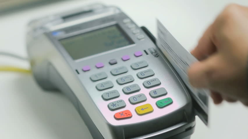 credit card swipe machine charges