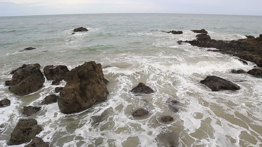 Time lapse of waves coming in on California coast   Shutterstock HD Video #16082902