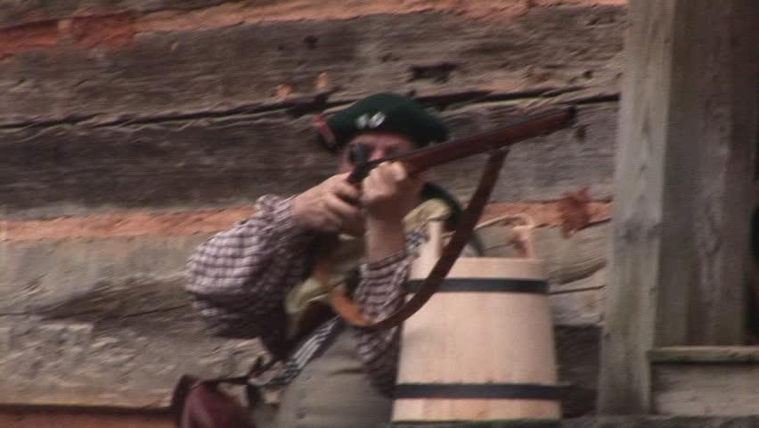 American Pioneer Life in Eighteenth Century.
