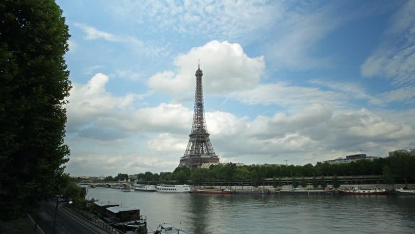 Eiffel tower time-lapse | Shutterstock HD Video #1622521