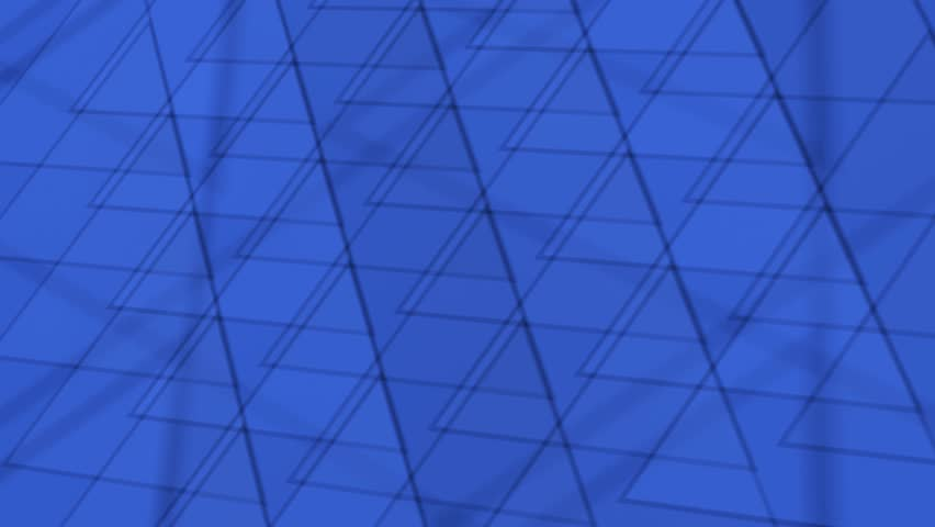 Blue triangles abstract motion background | Shutterstock HD Video #16289740
