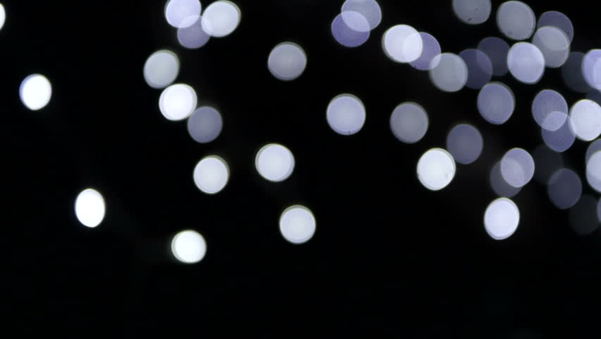 Blur colour light abstract background with bokeh defocused lights - HD stock footage clip