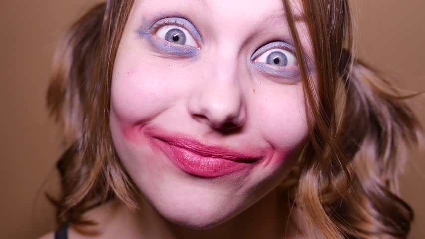 Haunt Attraction Clown Thing Stock Footage Video 7235785 ...