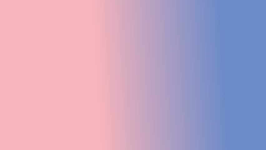 Abstract moving background for title (text in the center). White dots connected with lines on 2016 Pantone color mix (Rose Quartz and Serenity) gradient background